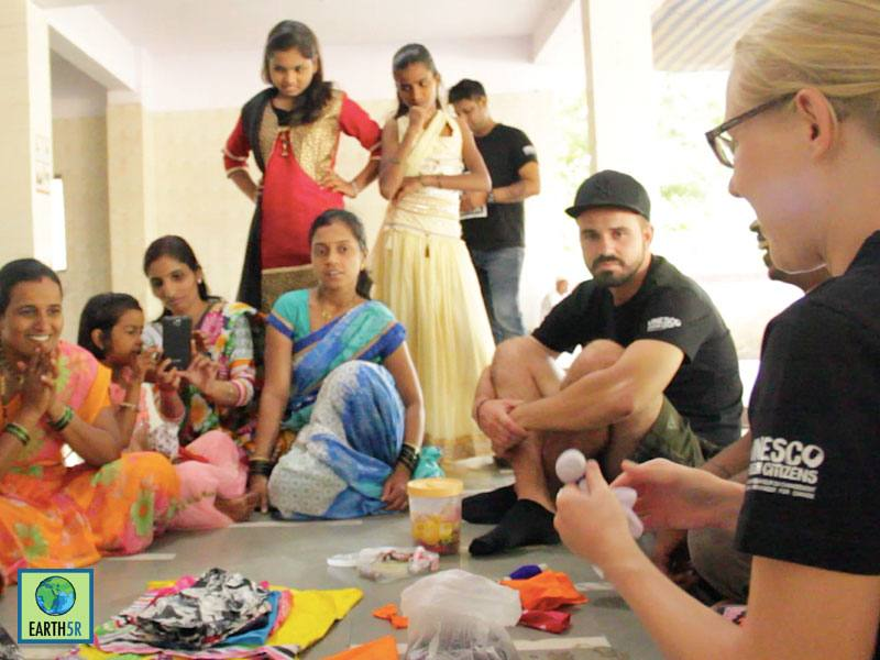 Sustainable Village Development Recycling Mumbai India Environmental NGO Earth5R