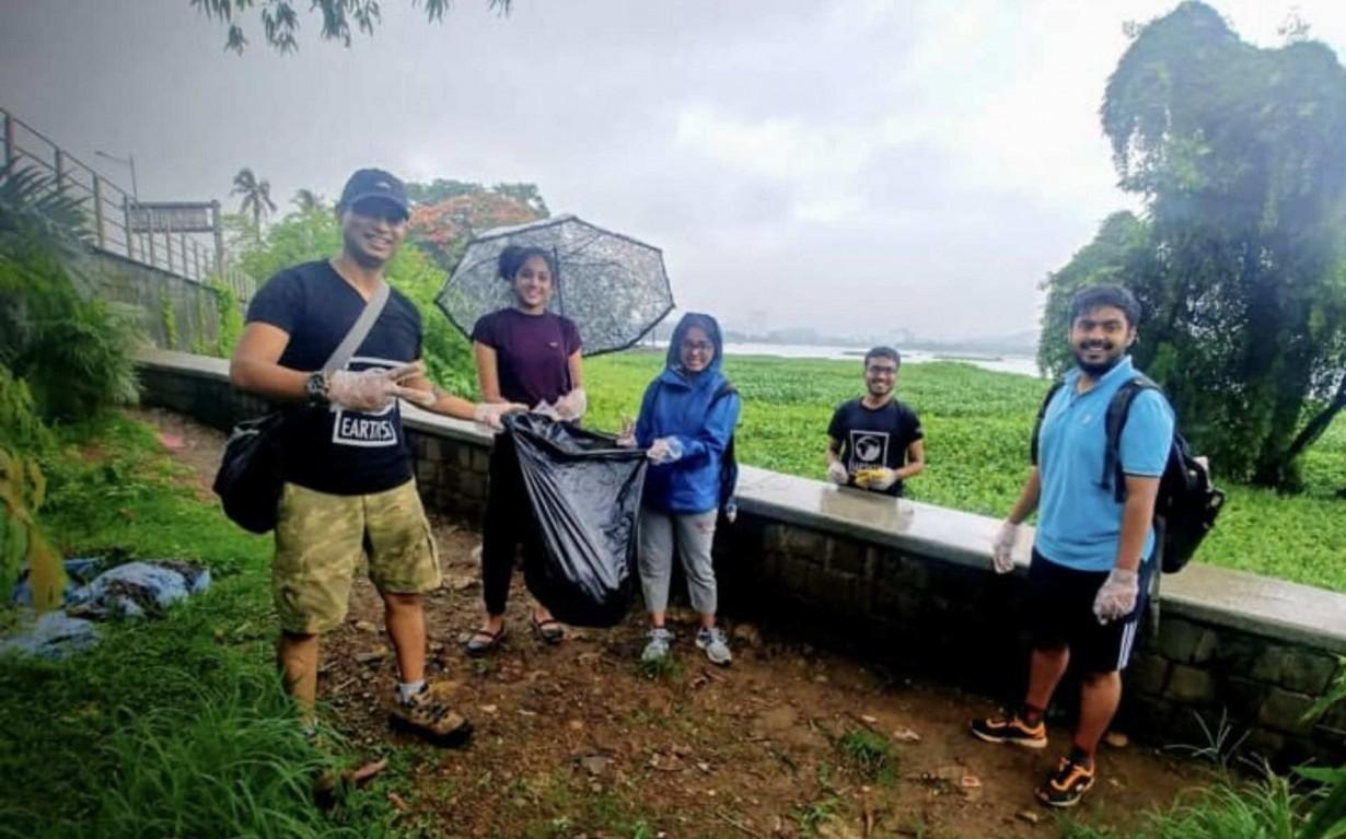 Lake Cleanup Mumbai India Environmental NGO Earth5R