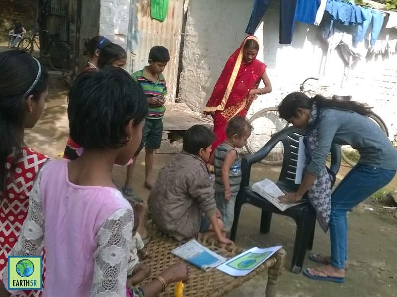 Upcycling Community Development Varanasi Mumbai India Environmental NGO Earth5R