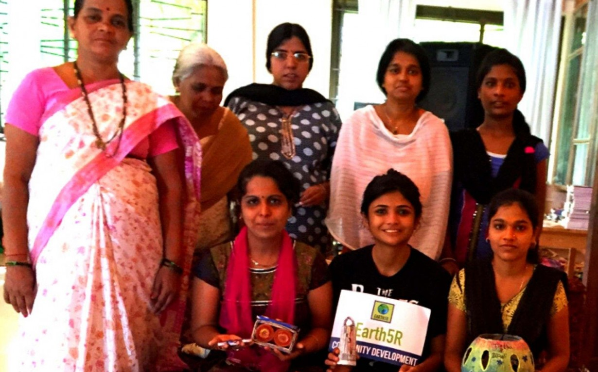 Upcycling Workshop Goa Mumbai India Environmental NGO Earth5R