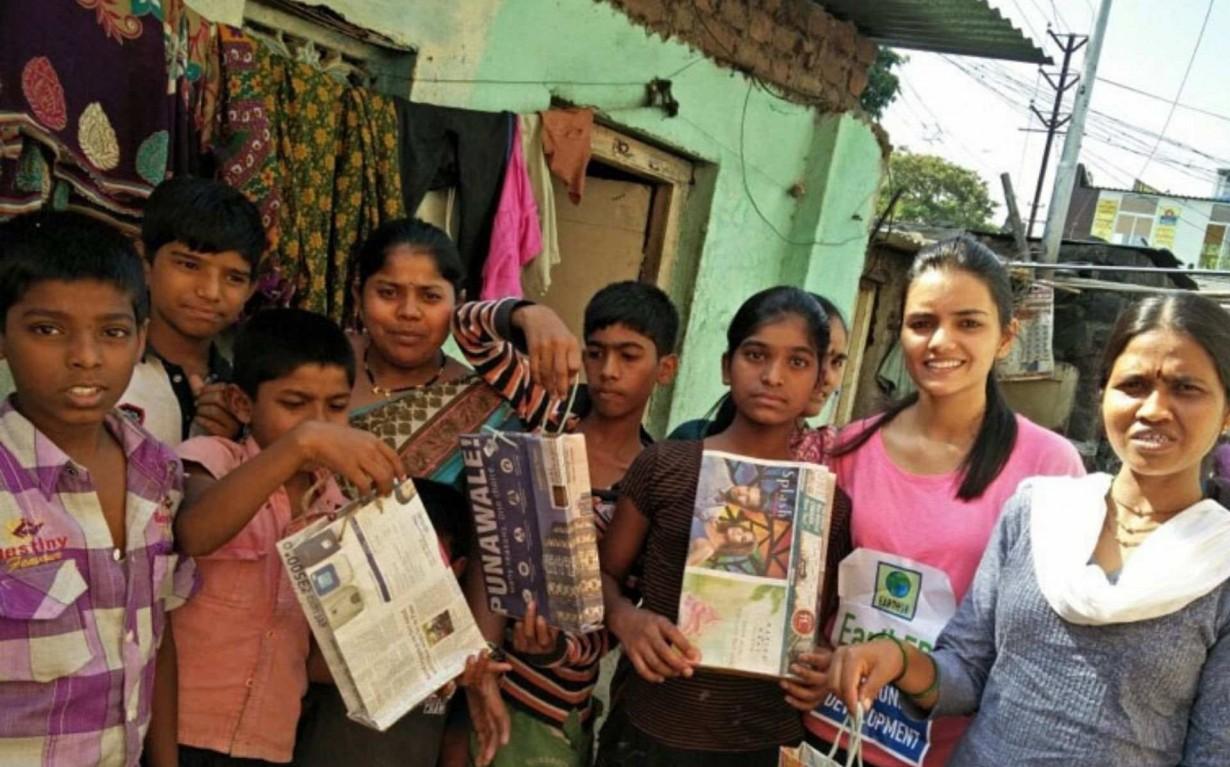 Upcycling Workshop Pune Sonam Sengar Mumbai India Environmental NGO Earth5R