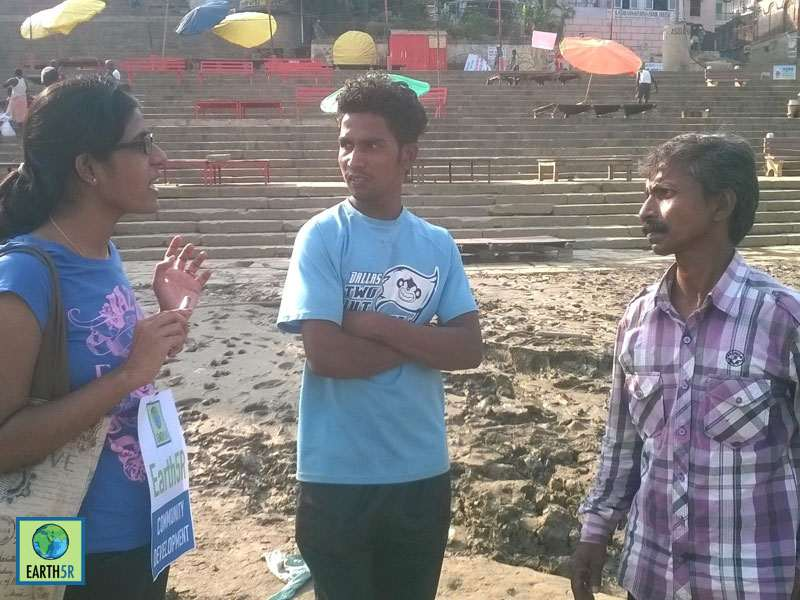 Varanasi Slum Environmental Awareness Volunteer Mumbai India Environmental NGO Earth5R