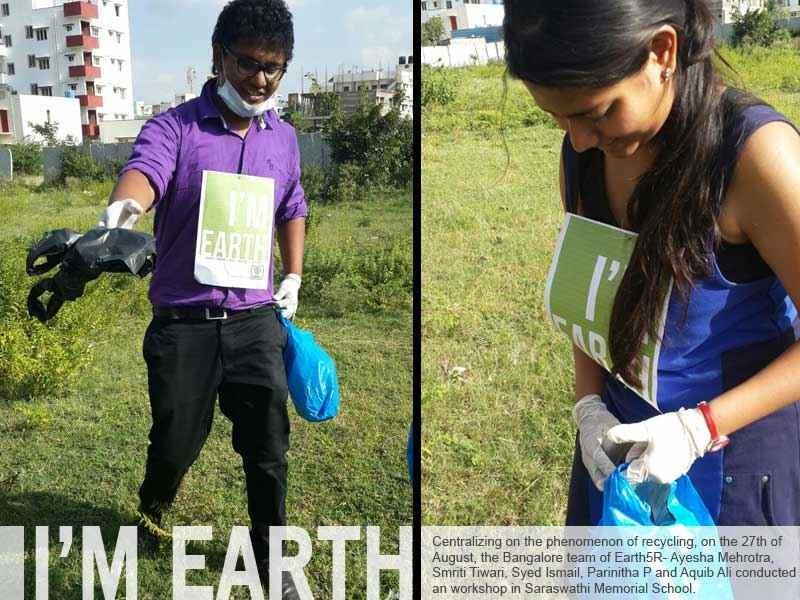 Volunteer Bangalore Clean Up Mumbai India Environmental NGO Earth5R