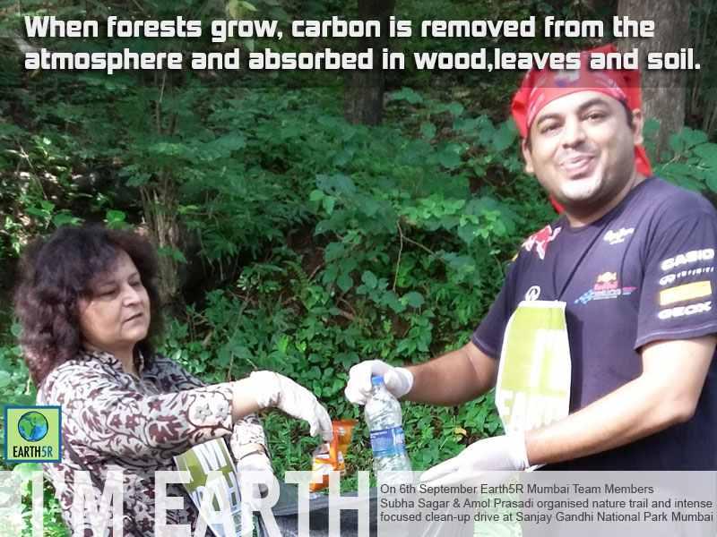 Volunteer Clean up Drive Mumbai India Environmental NGO Earth5R