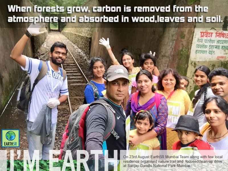 Volunteer Clean up Sustainability Mumbai India Environmental NGO Earth5R
