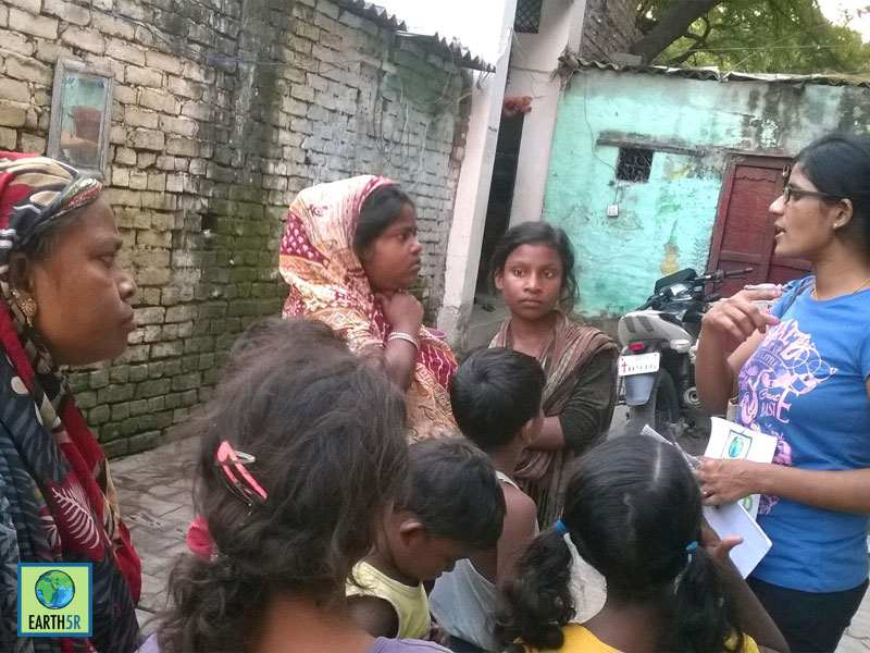 Volunteer Environmental Awareness Varanasi Slum Mumbai India Environmental NGO Earth5R