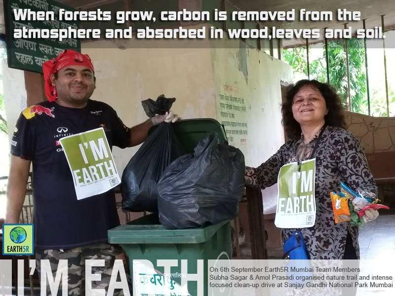 Volunteer Waste Management Mumbai India Environmental NGO Earth5R