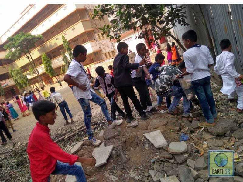 Waste Awareness Archit Jain Volunteer Mumbai India Environmental NGO Earth5R