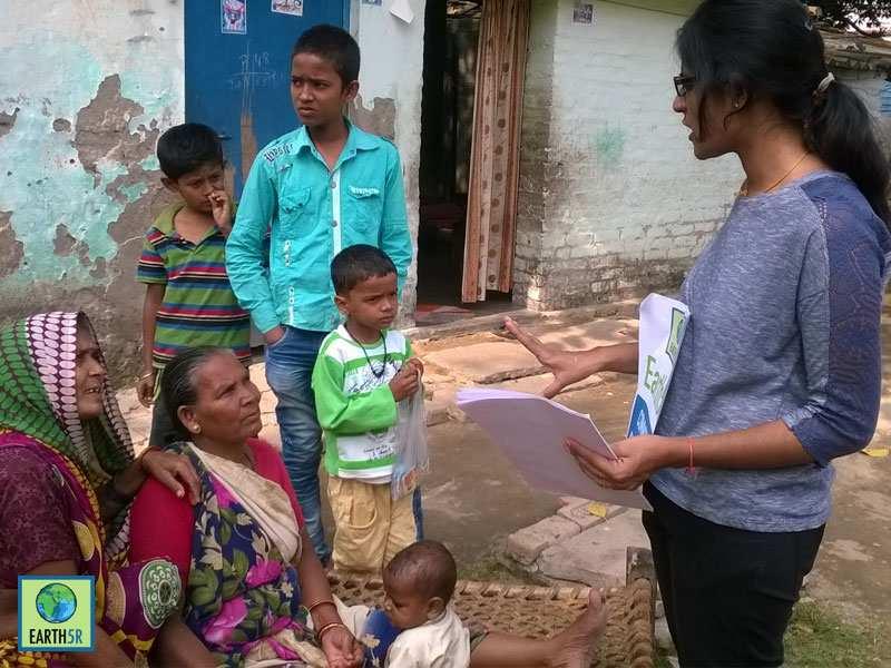 Waste Management Community Development Varanasi Mumbai India Environmental NGO Earth5R