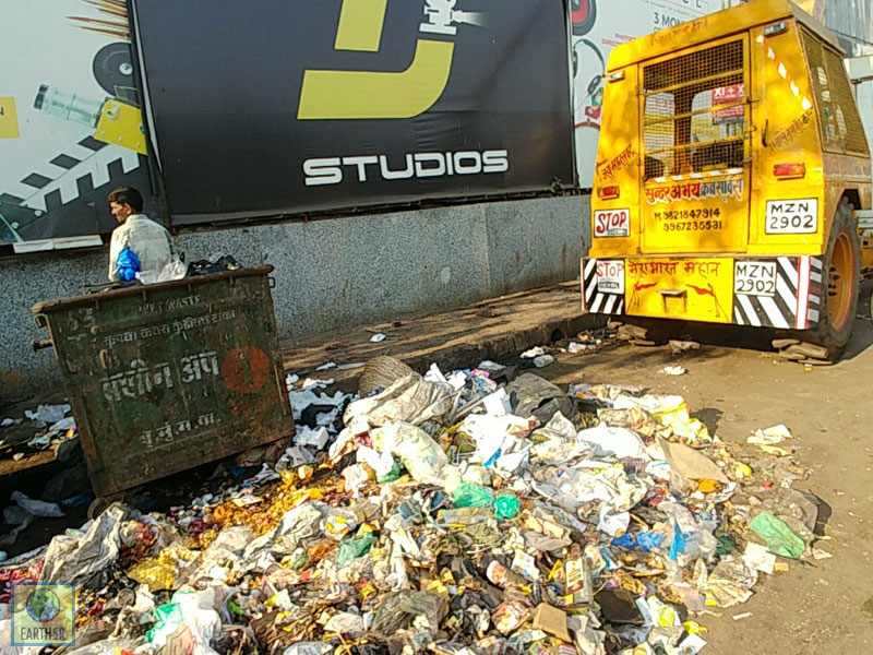 Waste Management Mumbai India Environmental NGO Earth5R