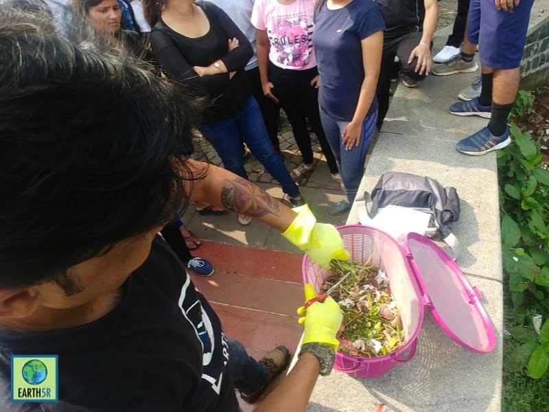 Waste Segregation Composting Lake Cleanup Mumbai India Environmental NGO Earth5R