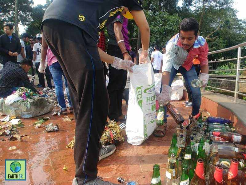 Waste Segregation Lake Cleanup Mumbai India Environmental NGO Earth5R