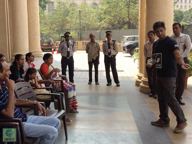 Waste Segregation Saurabh Gupta Mumbai India Environmental NGO Earth5R