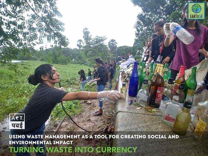 Waste composting Mumbai India Environmental Organisation Earth5R Saurabh Gupta Environmentalist