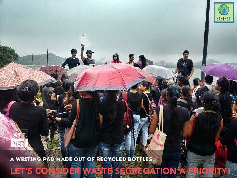 Waste composting Volunteering Internship Mumbai India Environmental Organisation Earth5R Saurabh Gupta Environmentalist