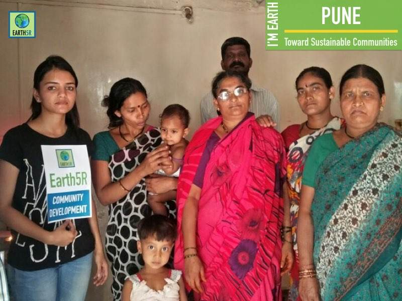 Women Empowerement Pune Sustainable livelihood Mumbai India Environmental NGO Earth5R