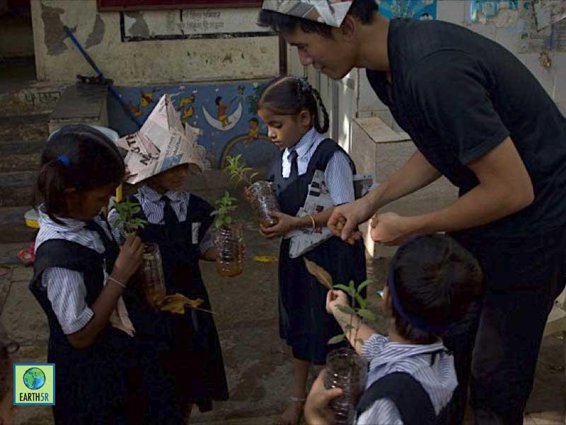 Workshop Composting Mumbai India Environmental NGO Earth5R