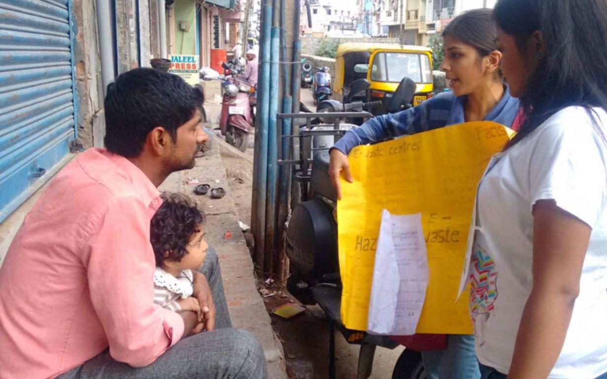 e-waste Awareness Bangalore Mumbai India Environmental NGO Earth5R