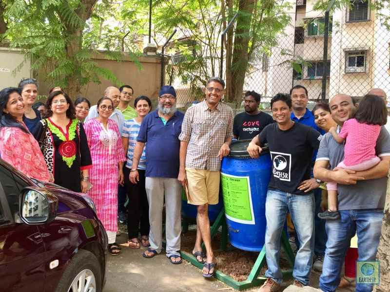 organic waste composting Mumbai India Environmental NGO Earth5R