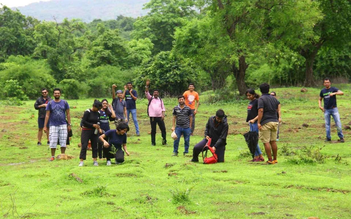 plantation sustainable event mumbai india Environmental NGO Earth5R