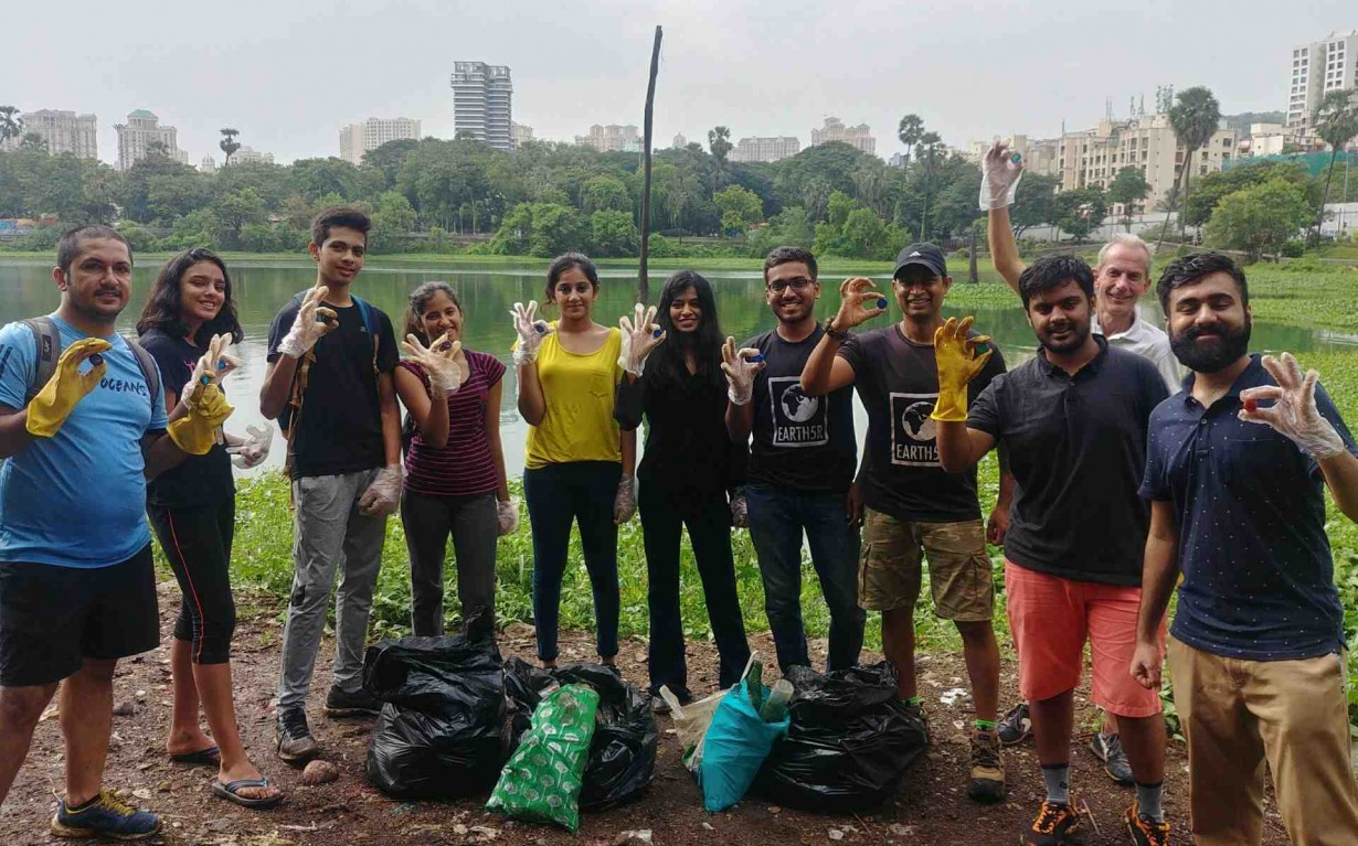plastic pollution problem Mumbai India Environmental NGO Earth5R