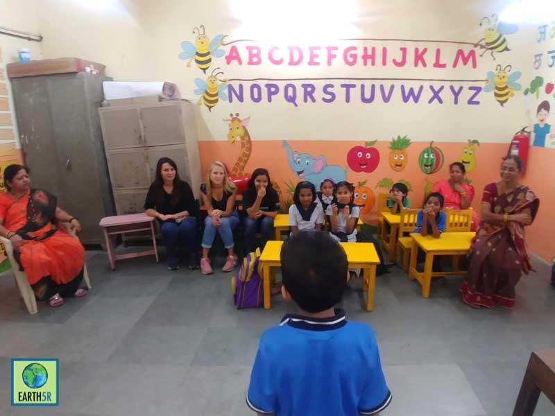 sustainability school kids Mumbai India Environmental NGO Earth5R