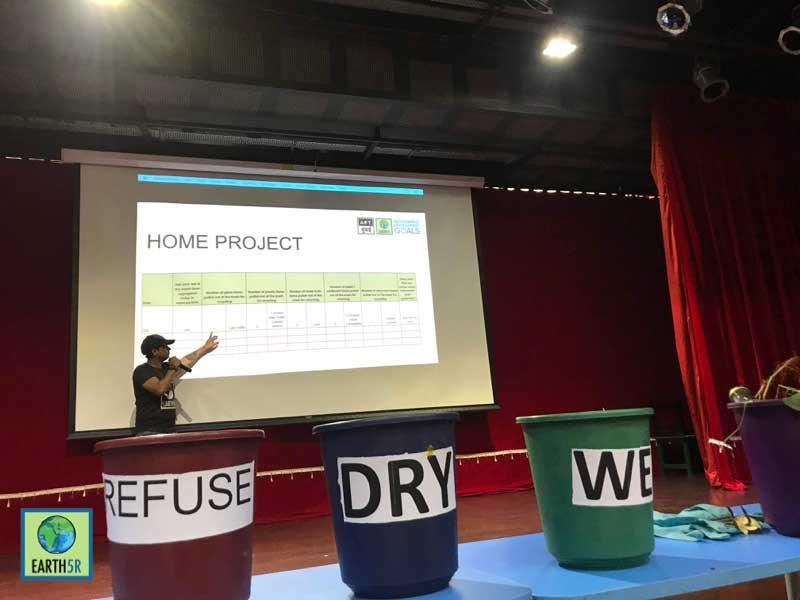 waste management training Mumbai India Environmental NGO Earth5R CSR