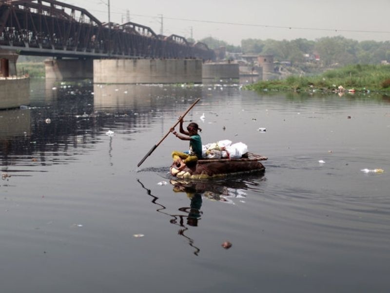 yamuna river pollution circular economy Mumbai India Environmental NGO Earth5R