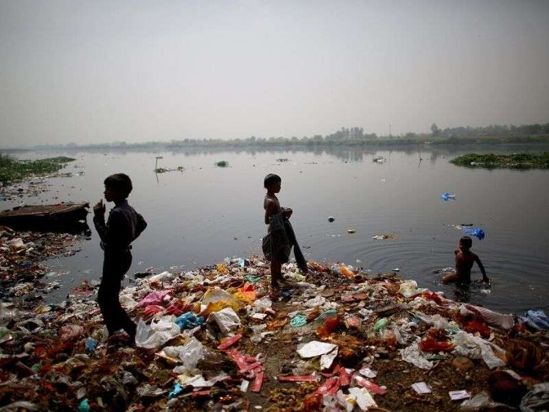 yamuna river pollution recycling Mumbai India Environmental NGO Earth5R
