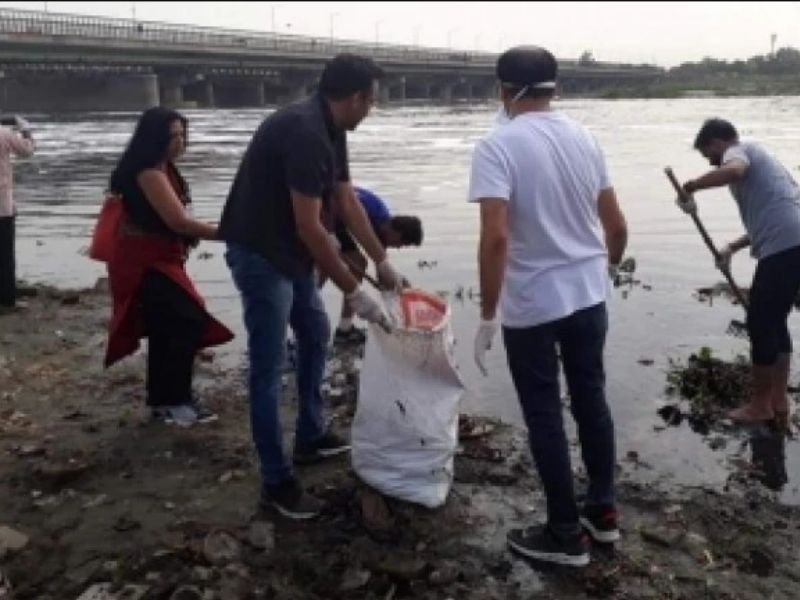 yamuna river pollution sustainability Mumbai India Environmental NGO Earth5R