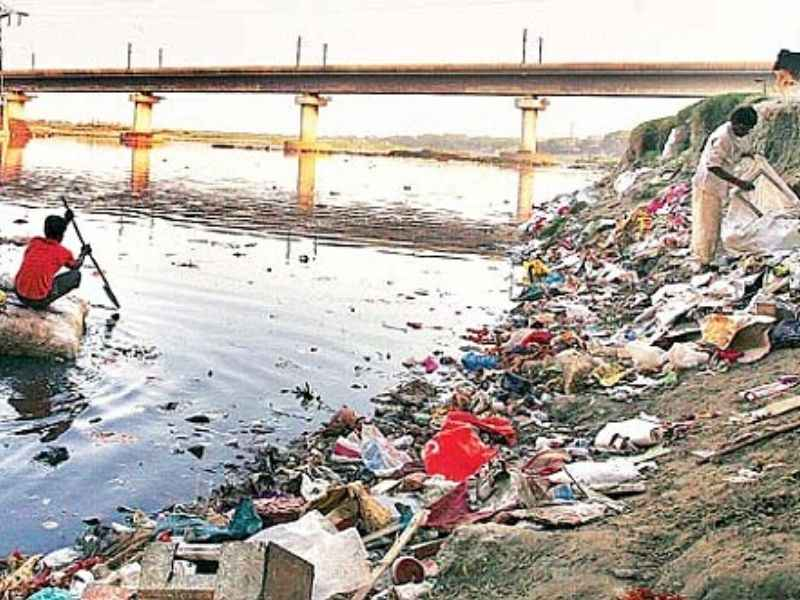 yamuna river pollution upcycling Mumbai India Environmental NGO Earth5R