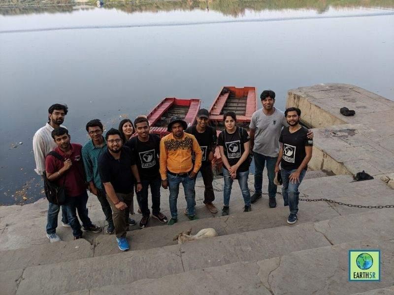 yamuna river pollution volunteers Mumbai India Environmental NGO Earth5R
