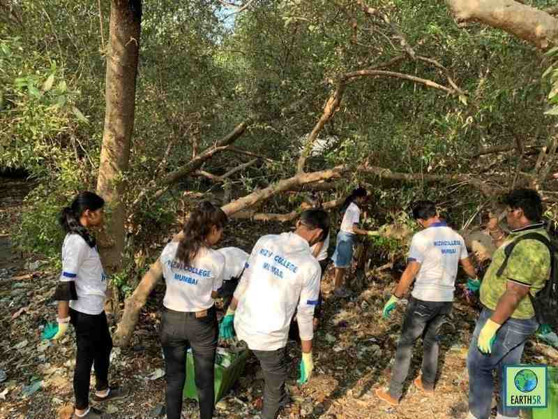 Barcelona Circular Economy Mangrove Cleaning Earth5R Mumbai India Environmental NGO Earth5R