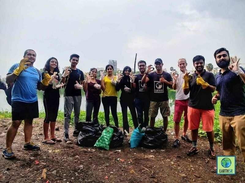 Cape Town Circular Economy Lake Cleanup Earth5R Mumbai India Environmental NGO Earth5Rjpg
