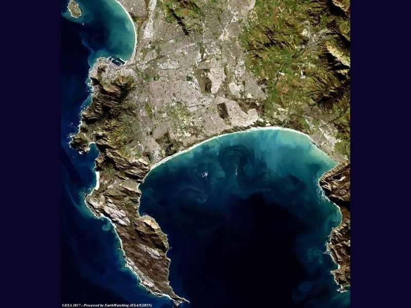 Cape Town circular economy Topography Map Mumbai India Environmental NGO Earth5R
