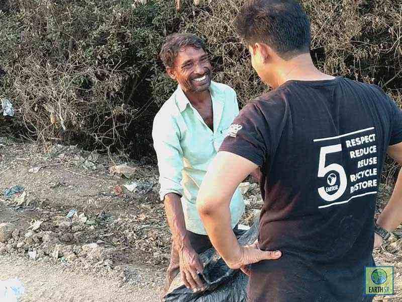 Kasadi river Clean up mithi river Mumbai India Environmental NGO Earth5R
