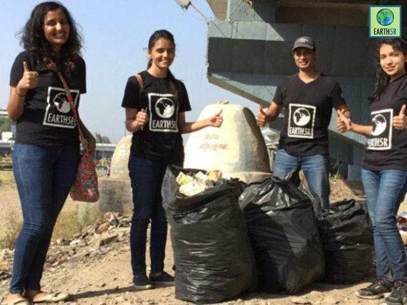 Kasadi river Clean up mula mutha river Mumbai India Environmental NGO Earth5R