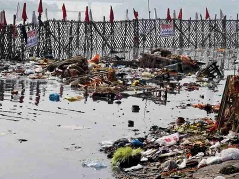 Kasadi river Polluted Mumbai India Environmental NGO Earth5R