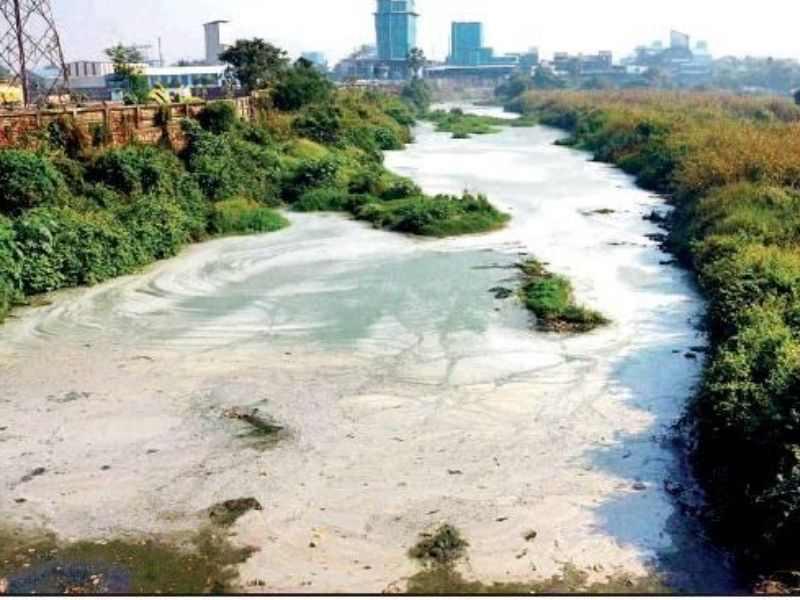 Kasadi river White Kasadi Mumbai India Environmental NGO Earth5R