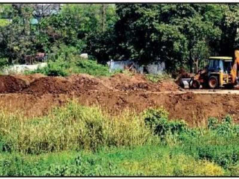 Kasadi river dumping in kasadi Mumbai India Environmental NGO Earth5R
