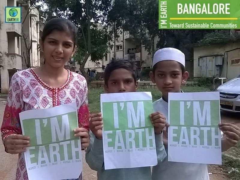 Personal Protection Equipment Circular Economy volunteers Mumbai India Environmental NGO Earth5R