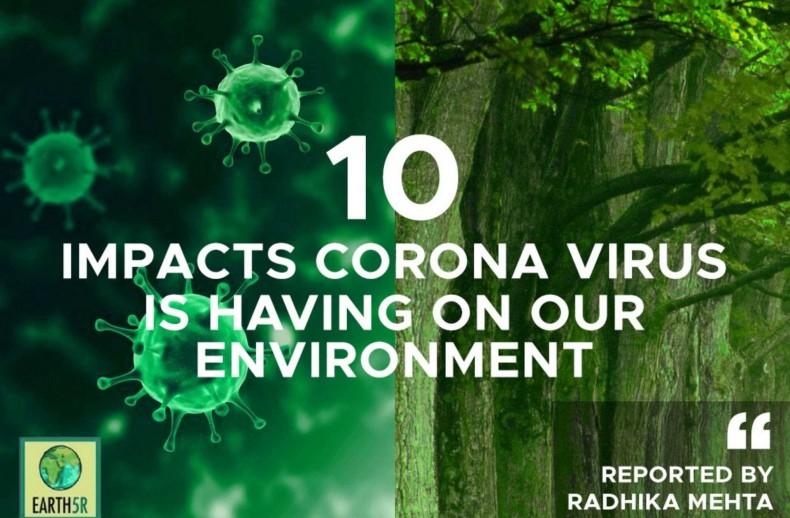 Impacts of covid19 on environment Mumbai India Environmental NGO Earth5R