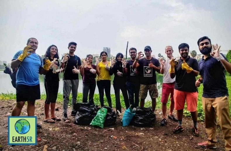 Mumbai-India-Environmental-NGO-Earth5r-Circular-Economy-lake