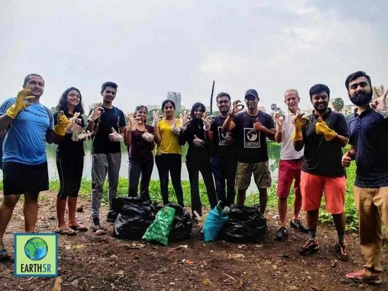 Mumbai-India-Environmental-NGO-Earth5r-Circular-Economy-lake-cleanup