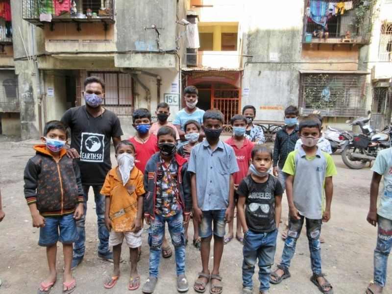 Mumbai-India-Environmental-NGO-Earth5R-Circular-Economy-community-kids-waste-segregation