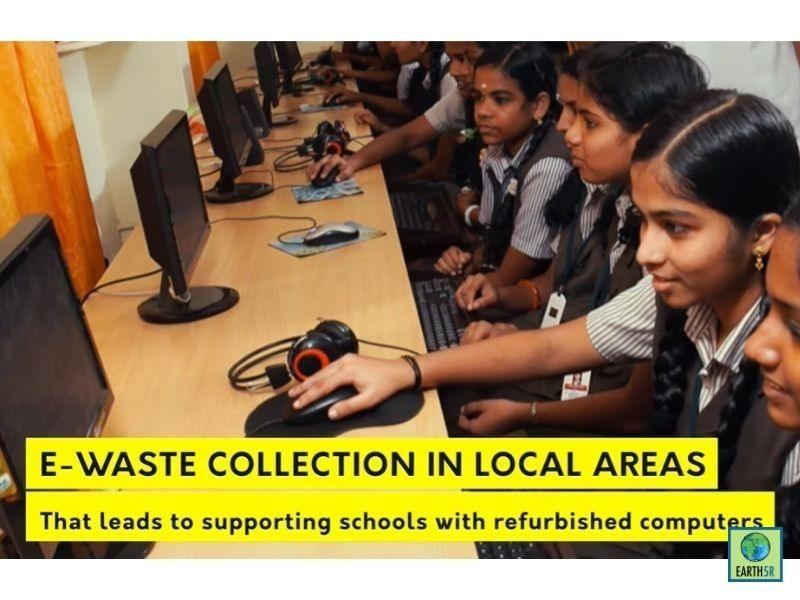 Mumbai-India-Environmental-NGO-Earth5r-ACT-Project-Swiss-School-circular economy-refurbished-computers