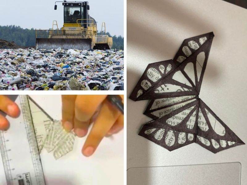 Mumbai-India-Environmental-NGO-Earth5r-home-equals-planet-landfill-paper-upcycle-origami