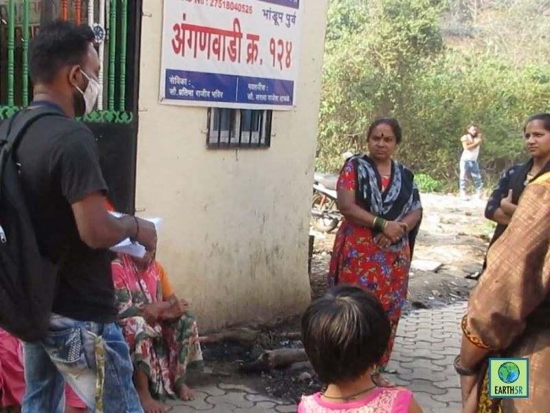 Mumbai-India-Environmental-NGO-Earth5R-Circular-Economy-segregation-community-citizen-training-volunteer