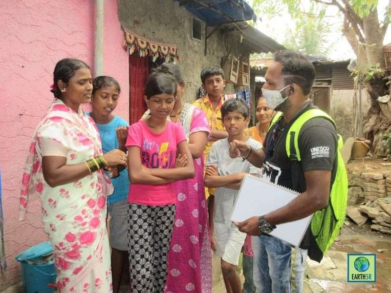 Mumbai-India-Environmental-NGO-Earth5R-Circular-Economy-segregation-community-livelihood-training