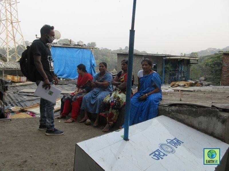 Mumbai-India-Environmental-NGO-Earth5R-Circular-Economy-segregation-community-program-citizen-training